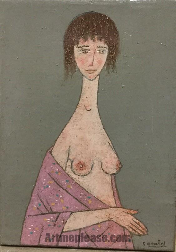 Desnudo adolescente I